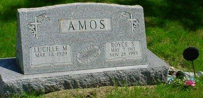 AMOS, ROYCE S - Pottawattamie County, Iowa   ROYCE S AMOS
