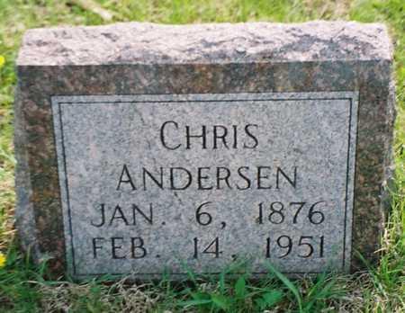 ANDERSEN, CHRIS - Pottawattamie County, Iowa | CHRIS ANDERSEN