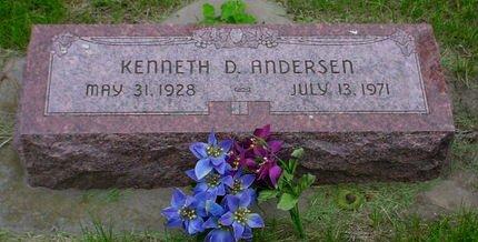ANDERSEN, KENNETH D - Pottawattamie County, Iowa   KENNETH D ANDERSEN