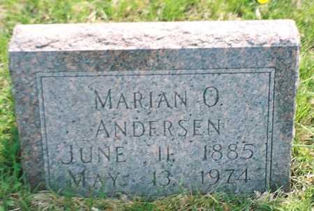 ANDERSEN, MARIAN O. - Pottawattamie County, Iowa | MARIAN O. ANDERSEN
