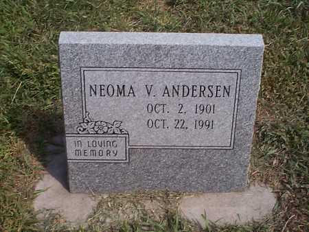ANDERSEN, NEOMA V. - Pottawattamie County, Iowa | NEOMA V. ANDERSEN