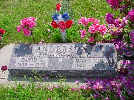 ANDERSON, MARY LOU - Pottawattamie County, Iowa | MARY LOU ANDERSON