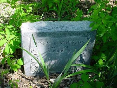ANDERSON, JOSEPH  L. [HEADSTONE] - Pottawattamie County, Iowa | JOSEPH  L. [HEADSTONE] ANDERSON