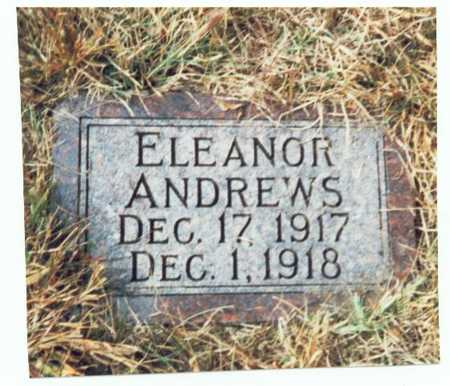 ANDREWS, ELEANOR - Pottawattamie County, Iowa   ELEANOR ANDREWS
