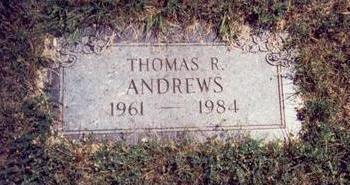 ANDREWS, THOMAS ROBERT - Pottawattamie County, Iowa | THOMAS ROBERT ANDREWS