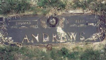 ULFERS ANDREWS, FERN S. - Pottawattamie County, Iowa | FERN S. ULFERS ANDREWS