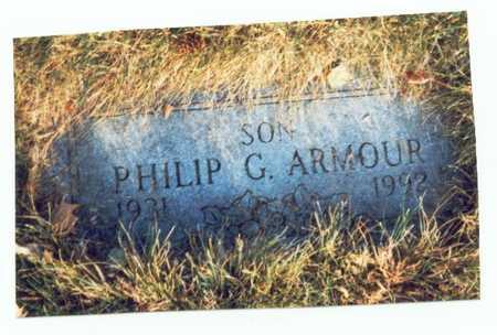 ARMOUR, PHILIP G. - Pottawattamie County, Iowa   PHILIP G. ARMOUR