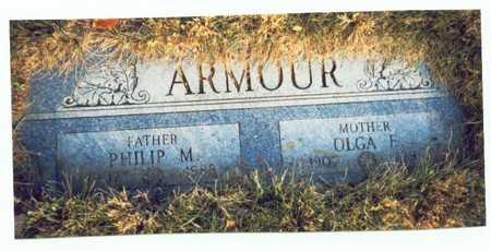 ARMOUR, OLGA E. - Pottawattamie County, Iowa   OLGA E. ARMOUR
