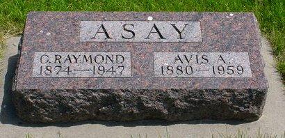 ASAY, C RAYMOND - Pottawattamie County, Iowa   C RAYMOND ASAY