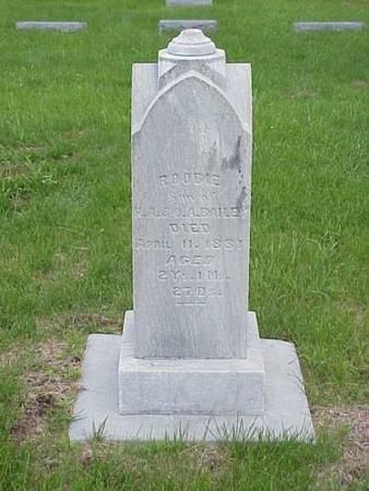 BAILEY, ROODIE & ORRA A. - Pottawattamie County, Iowa | ROODIE & ORRA A. BAILEY