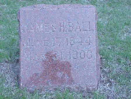 BALL, JAMES H. - Pottawattamie County, Iowa | JAMES H. BALL