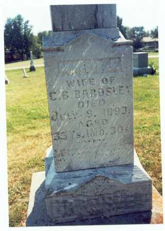 SPENCER BARDSLEY, MARY JANE - Pottawattamie County, Iowa   MARY JANE SPENCER BARDSLEY