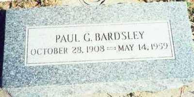 BARDSLEY, PAUL GARFIELD - Pottawattamie County, Iowa | PAUL GARFIELD BARDSLEY