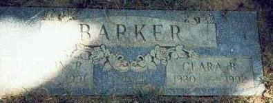BARKER, JUDSON RILEY - Pottawattamie County, Iowa | JUDSON RILEY BARKER