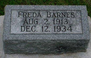 BARNES, FREDA - Pottawattamie County, Iowa | FREDA BARNES