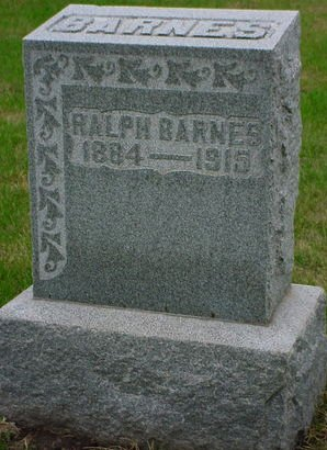 BARNES, RALPH - Pottawattamie County, Iowa   RALPH BARNES