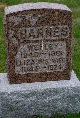 BARNES, WESLEY - Pottawattamie County, Iowa   WESLEY BARNES