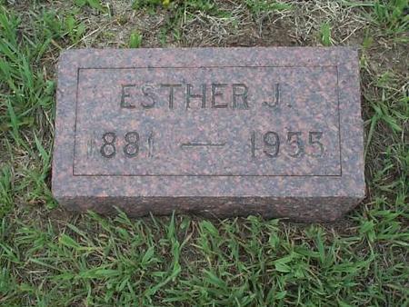 BARRITT, ESTHER J. - Pottawattamie County, Iowa | ESTHER J. BARRITT