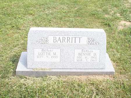 BARRITT, LOTTIE M. - Pottawattamie County, Iowa | LOTTIE M. BARRITT