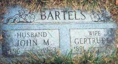 BARTELS, JOHN M. - Pottawattamie County, Iowa | JOHN M. BARTELS