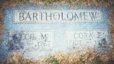 BARTHOLOMEW, CECIL MONROE - Pottawattamie County, Iowa | CECIL MONROE BARTHOLOMEW