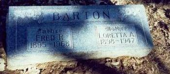 BARTON, LORETTA A - Pottawattamie County, Iowa | LORETTA A BARTON