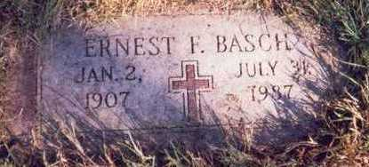 BASCH, ERNEST F. - Pottawattamie County, Iowa | ERNEST F. BASCH