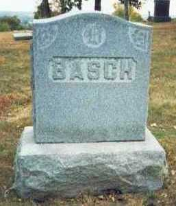 BASCH, FAMILY MARKER - Pottawattamie County, Iowa | FAMILY MARKER BASCH