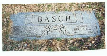 BASCH, HARVEY E. - Pottawattamie County, Iowa | HARVEY E. BASCH