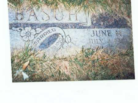 BASCH, JUNE M. - Pottawattamie County, Iowa | JUNE M. BASCH