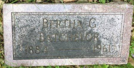 UTTERBACK BATCHELOR, BERTHA GERTRUDE - Pottawattamie County, Iowa | BERTHA GERTRUDE UTTERBACK BATCHELOR