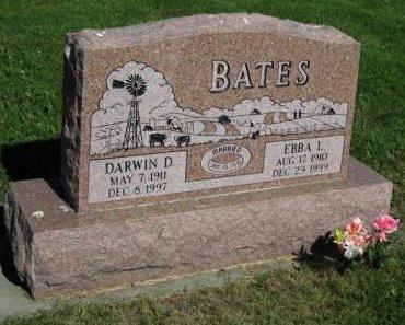 BERGSTROM BATES, EBBA - Pottawattamie County, Iowa | EBBA BERGSTROM BATES