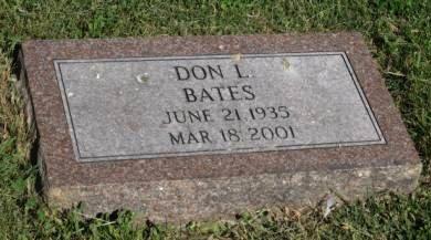 BATES, DON L. - Pottawattamie County, Iowa | DON L. BATES