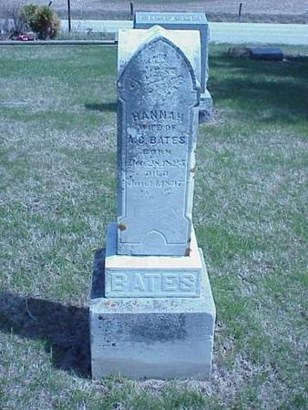 BATES, HANNAH - Pottawattamie County, Iowa | HANNAH BATES