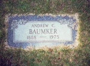 BAUMKER, ANDREW C. - Pottawattamie County, Iowa | ANDREW C. BAUMKER