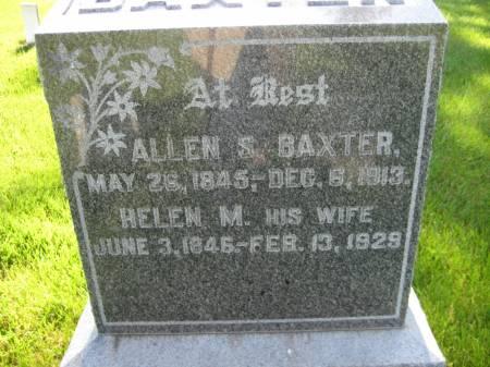 BAXTER, HELEN M. - Pottawattamie County, Iowa   HELEN M. BAXTER