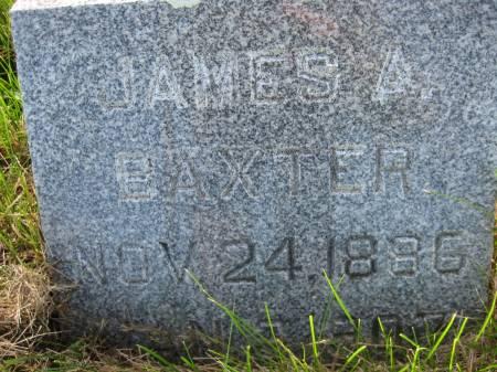 BAXTER, JAMES A. - Pottawattamie County, Iowa   JAMES A. BAXTER
