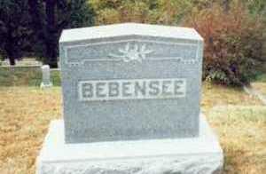 BEBENSEE, FAMILY MARKER - Pottawattamie County, Iowa | FAMILY MARKER BEBENSEE