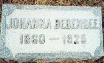 BEBENSEE, JOHANNA - Pottawattamie County, Iowa | JOHANNA BEBENSEE