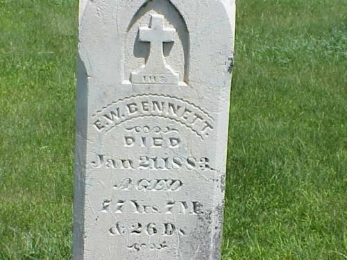 BENNETT, E.W. - Pottawattamie County, Iowa | E.W. BENNETT