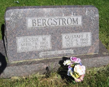 BERGSTROM, JESSIE M. - Pottawattamie County, Iowa   JESSIE M. BERGSTROM