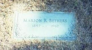 BETHERS, MARION R. - Pottawattamie County, Iowa   MARION R. BETHERS