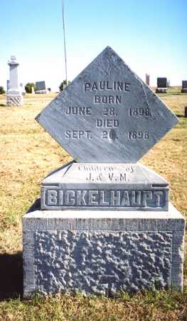 BICKELHAUPT, PAULINE - Pottawattamie County, Iowa | PAULINE BICKELHAUPT
