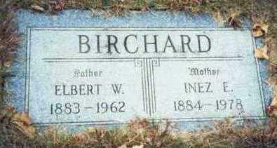 BIRCHARD, INEZ E. - Pottawattamie County, Iowa | INEZ E. BIRCHARD
