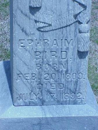 BIRD, EPHRAIM - Pottawattamie County, Iowa | EPHRAIM BIRD