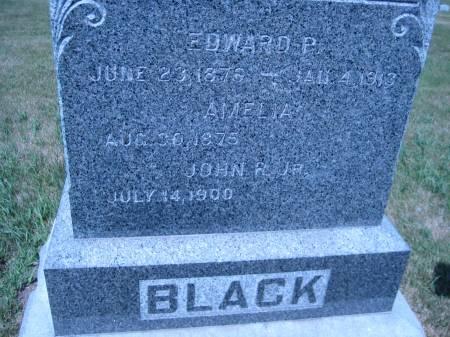 BLACK, JOHN P. JR. - Pottawattamie County, Iowa | JOHN P. JR. BLACK