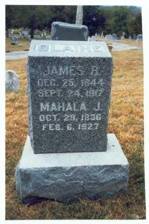 BLAINE, JAMES B. - Pottawattamie County, Iowa | JAMES B. BLAINE