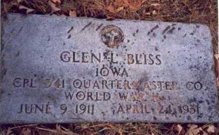BLISS, GLEN L. - Pottawattamie County, Iowa | GLEN L. BLISS