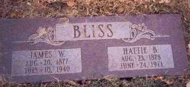 BLISS, JAMES W. - Pottawattamie County, Iowa | JAMES W. BLISS