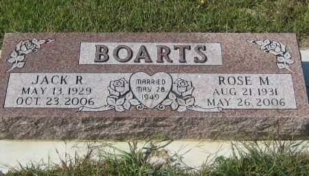 BOARTS, JARK R. - Pottawattamie County, Iowa | JARK R. BOARTS